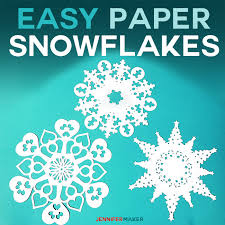 Snow Templates Paper Snowflake Templates How To Make Amazing Winter Decor