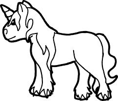 Unicorn Libro Da Colorare Disegno Clip Art Unicorno 900772 Png