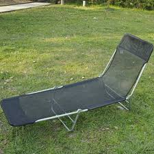 outsunny adjustable reclining lounge