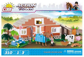 <b>Конструктор Cobi</b> Action <b>Town</b> 1875 Ферма - отзывы