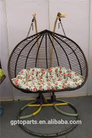 rattan double stand swing chair wicker hanging chair egg chair indoor indian swing 1151
