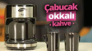 ÇABUCAK OKKALI KAHVE 😍 (Goldmaster Kahve Makinesi inceleme) - YouTube