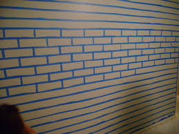 fuax brick painting on concrete | Faux Brick Wall - Faux much fun!