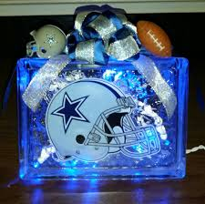 glass block night light ideas dallas cowboys helmet decal lighted glass block nightlight and glass block night light ideas