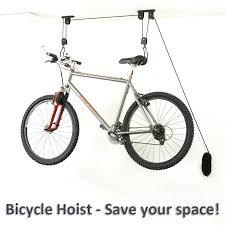 bicycle wall hook bike bicycle lift ceiling mounted hoist storage garage bike hanger save space roof