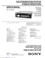 sony cdx gt500us manuals Sony Cdx Gt500 Wiring Diagram sony cdx gt500us service manual sony cdx gt300 wiring diagram