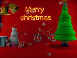 MERRY CHRISTMAS 3D WALLPAPER, Hatem Mohamed
