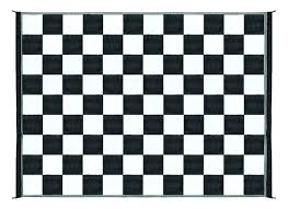 black and white checd rug 9 reversible outdoor rug mat black white checd pattern black and