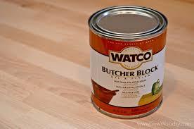 watco butcher block oil