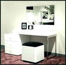 vanity table. Cool Modern Vanity Table Makeup Dressing Idea Best With Mirror And Bench Storage Light Set Lighted Ikea Drawer .