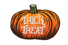 halloween pumpkin trick or treat
