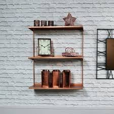 copper wall shelves copper metal wall shelves melody copper pipe wall shelves copper wall shelves