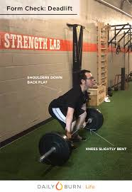 deadlift form gif how to do a deadlift with perfect form daily burn