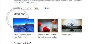 related post widget for blogger
