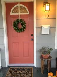 cool front door knobs. Charming Front Door Ideas With Oil Rubbed Bronze Knobs And Wreath Plus Exterior Siding Cool E