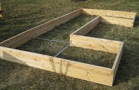 raised garden bed u shape