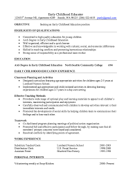 preschool resume samples early childhood resume on pinterest education and preschool teachers