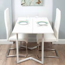 folding dining table attached to wall