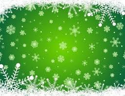 green christmas background clipart. Contemporary Background Green Christmas Background With Snowflakes Throughout Clipart R