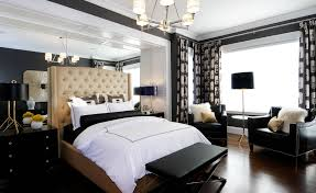 Monochrome Bedroom Design Glamorous Bedrooms For Some Weekend Eye Candy
