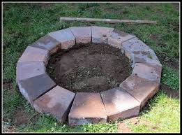 best of fire pit blocks homeroad building a fire pit