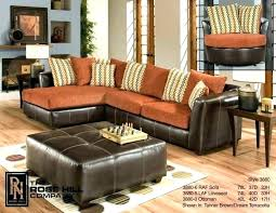Burnt Orange And Brown Living Room Concept Impressive Ideas