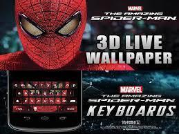 Live Wallpaper Wallpaper Spiderman 3d