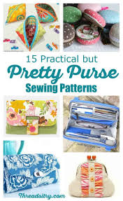 Purse Sewing Patterns Unique 48 Practical But Pretty Purse Sewing Patterns