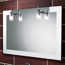 bathroom mirrors with lighting. Illuminated Bathroom Mirrors Led Uk Drench Intended For Plan With Lighting