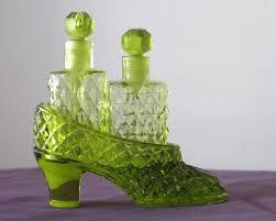 perfume bottles glass shoe novelty japan irice 1935 to expand