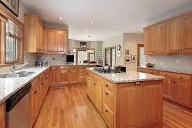 oak kitchen cabinets with granite countertops. Honey Oak Kitchen Cabinets Trends Including Awesome With Granite Countertops Images Red Backsplash G