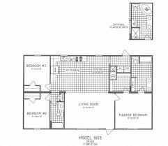 Modern 3 Bedroom House Floor Plans Open Floor Plans For Homes With Modern 3 Bedroom Floor Plan C 8103