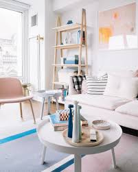 furniture 25 round coffee table decor ideas striking millennial pink decorating ideas from my living
