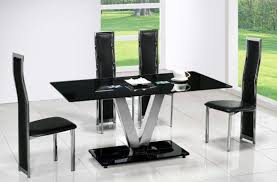 Glass Kitchen Table Sets Kitchen Glass Kitchen Table With Top Dining Table Glass Dining