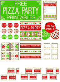 Pizza Party Flyer Template Carpaty Info