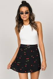 two piece dresses black multi steal your heart skirt