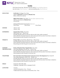 How To Write Resume Cv How To Write A Good Cv Example College