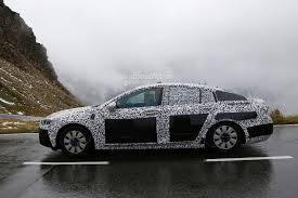 Spyshots: 2017 Opel Insignia Test Mule Looks Gigantic - autoevolution