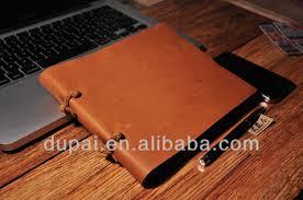 hand made custom genuine leather drawing books