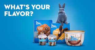 Ice Cream Products & Flavors - Blue <b>Bunny</b>