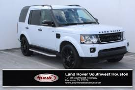 Used Land Rover Luxury Cars for Sale in Houston near Pasadena TX