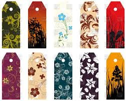 Design Bookmarks Floral Bookmarks Design Stock Vector Image