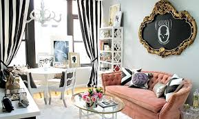 feminine home office. By Nichole Loiacono Design Feminine Home Office