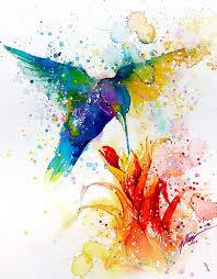 colorful animal watercolor paintings tilen ti 9