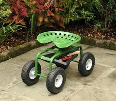 garden seat on wheels. Gardening Stools And Seats Vibrant Idea Seat With Wheels Interesting Design Gardens Garden Bench . On O