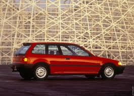 1988 Honda Civic Hatchback. Grew up in this car. Strange, but very ...