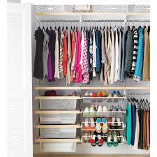 Organize closets and drawers. Messy closets give the appearance that your  home doesn't