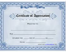 Certificate Of Appreciation Templates Free Download Free Printable Certificates Of Appreciation Awards Templates