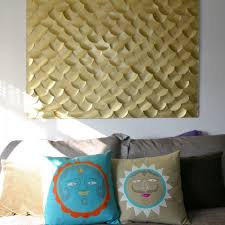 let s go swimming diy wall art on paper mache wall art diy with 20 diy wall art ideas for decorating your home porch advice
