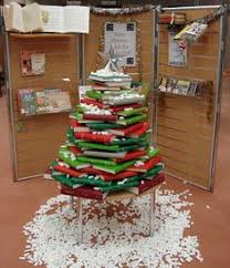 christmas decoration ideas for library